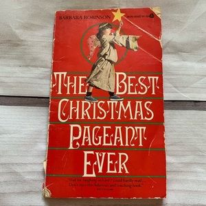 Other - VTG 1972 The Best Christmas Pageant Ever Book